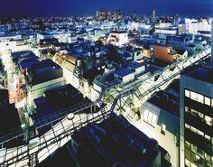 tokyo nuit sato shintaro 06 Tokyo la nuit par Sato Shintaro  photo art