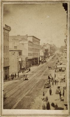 1860's street scene, Richmond Virginia by Selden & Ennis
