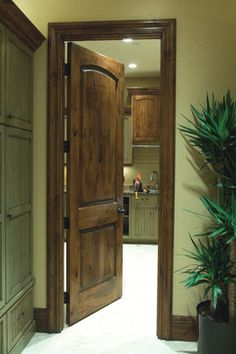 Knotty Alder: A Natural Look to Your Home traditional interior doors Wooden Doors Interior, Prehung Interior Doors, Interior, 2 Panel Interior Door, Doors Interior, Wood Doors Interior, Rustic Doors, Knotty Alder, Knotty Alder Doors