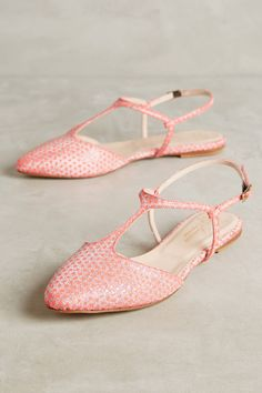 Lenora Neon Dot Flats | Anthropologie