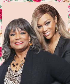 Tyra Banks & Her Mom Talk Nose Jobs, Fertility, & Life-Size 2 #refinery29 https://www.refinery29.com/2018/04/195447/tyra-banks-mom-book-details#slide-1