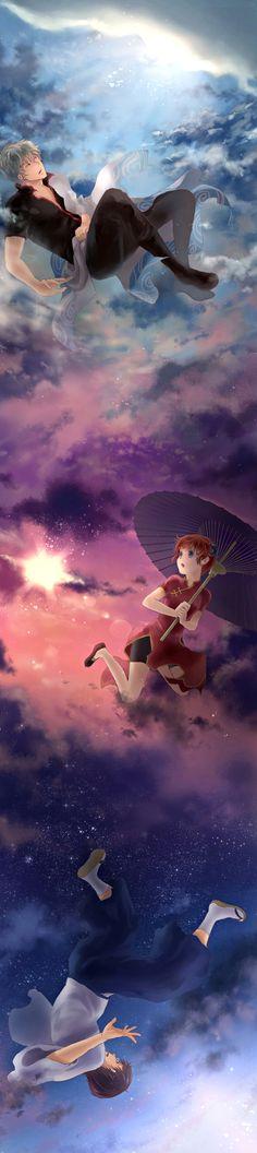 Gintoki and Kagura   Gintama   ♤ Anime ♤