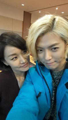 M.I.B's Kangnam with Jin Kyung (Cha ok) At Pinocchio set