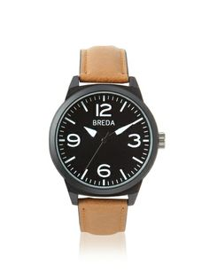 Breda Men's 8144 Stephen Interchangeable Black Alloy Watch at MYHABIT $32