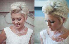 Short Wedding Hairstyles For Fine Hair