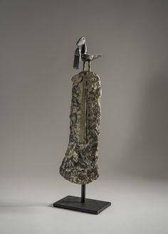 'Fisherman Bird and Fish' Stoneware by John Maltby