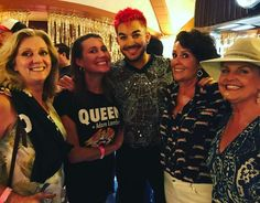 """""""After party with Queen and Adam Lambert"""""""
