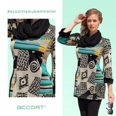 Geometrik desenler #accortlamukemmelim #moda #fashion #tesettür #alışveriş #hijab #bayangiyim #stil #kombin