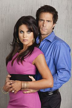 Nadia Bjorlin as Chloe Lane and Shawn Christian as Dr. Daniel Jonas