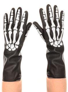 Bone Dry Skeleton Kitchen Gloves by Fred & Friends | Nest | PLASTICLAND