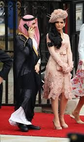 Saudi Princess Al-Taweel in Zuhair Murad at the Royal Wedding Celebrity Inspired Dresses, Celebrity Dresses, Saudi Princess, Arabian Princess, Princess Of Saudi Arabia, Princess Kate, Wedding Outfits For Family Members, Flower Shorts, Inspirational Celebrities