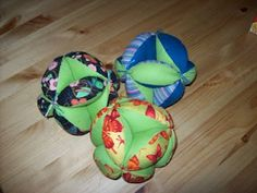 Infant Ball....Marcia here's another sewing project!  Someone in our church use to make these and my girls loved them when they were little!!