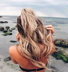 Imagen de hair, blonde, and beach