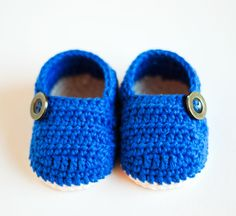Crochet Baby Booties – GRANDPA SLIPPERS