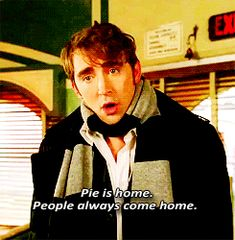 Pie is home. My personal philosophy.