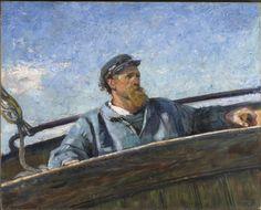 Christian Krohg - Nordenvind,1887