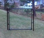 Our access gate is compatible with our dog fencing to give you easy access to your yard without compromising protection. Deer Fence, Fence Gate, Fences, Best Carry On Bag, Driving Cap, Pet Dogs, Pets, Puppy Face, Tubular Steel