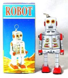 ROBOT TIN TOY
