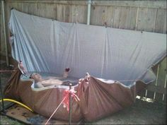 Redneck Swimming Pool -- why not?