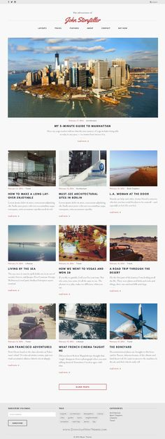 Storyteller is a responsive Retina-ready clean minimal WordPress blogging theme with customizable accent color, fullscreen galleries and several elegant layouts download now. #blog #wptheme