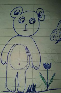 This little crub is livin' in my Spanish notebook