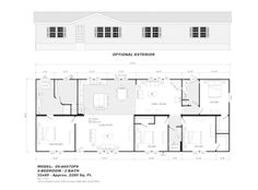 Model 09-A6670PS - Double Section - Our Homes