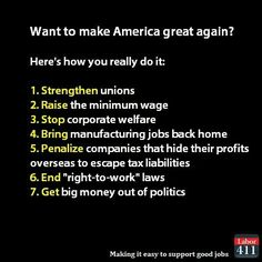 #BernieOrBust . Um, make # 7 number 1, and the rest might happen, but without number 7, forget about it.