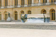 Anish Kapoor at Château de Versailles - June 17, 2015 - C-Curve  2007  Courtesy Kapoor Studio, kamel mennour and Lisson Gallery  Photo: Tadzio