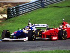 Jacques Villeneuve   Michael Schumacher
