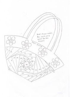 Iris Folding Templates & Inspirations - Aga Piechoci?ska - Picasa Web Albums