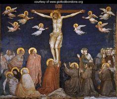 Crucifixion 1310s - Giotto Di Bondone ✏✏✏✏✏✏✏✏✏✏✏✏✏✏✏✏ IDEE CADEAU   ☞ http://gabyfeeriefr.tumblr.com/archive .....................................................   CUTE GIFT IDEA  ☞ http://frenchvintagejewelryen.tumblr.com/archive   ✏✏✏✏✏✏✏✏✏✏✏✏✏✏✏✏