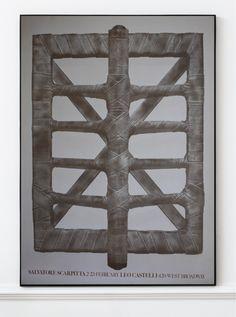 Salvatore Scarpitta - Original Artist Poster 1982 – Art & Vintage Store Ltd Art Vintage, Original Vintage, Vintage Prints, Vintage Posters, New York Galleries, Exhibition Poster, American Artists, Fine Art Prints, Poster Prints