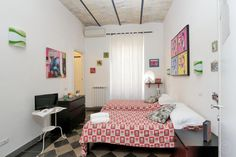 VESPA PoP room, twin beds can be set up as a king size