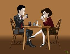 Dale and Audrey by raphael2054 #Cooprey #TwinPeaks