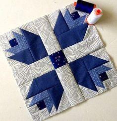 Free Quilt Block Patterns (Dutch Treat Quilt)