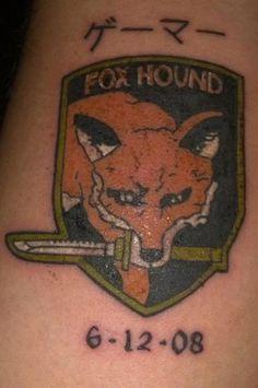 metal gear solid tattoos - Google Search