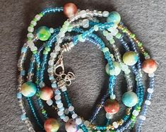 ReMIdea su Etsy Beaded Necklace, Etsy, Jewelry, Beaded Collar, Jewlery, Pearl Necklace, Jewels, Beaded Necklaces, Jewerly