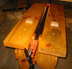 New Fangled saw bench