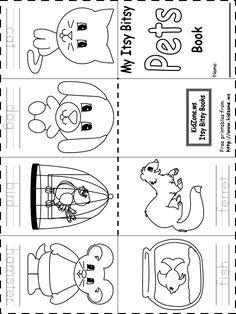 preschool pet theme worsheets - Google Search                                                                                                                                                                                 More