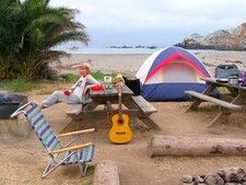 Camping in Two Harbors is fun and secluded on Catalina Island