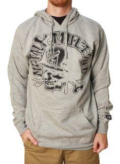 Metal Mulisha Men's Destroy Pullover Fleece Hoodie