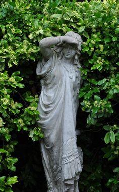 Statues Of Liberty Poem - - Statues Decor Sculpture - Love Garden, Dream Garden, Garden Shop, Parks, Gothic Garden, Classic Garden, Angel Statues, Greek Statues, Buddha Statues