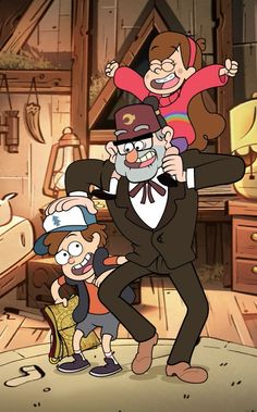 Meet the Pines Family! Dipper Pines, Mabel Pines, Gravity Falls Season 2, Gravity Falls Fan Art, Disney Channel, Make Pictures, Force Of Evil, Cool Cartoons, Bumper Stickers