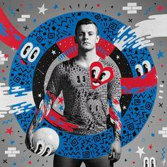 Pepsi une a artistas y futbolistas para demostrar que el fútbol es arte #FutbolNow