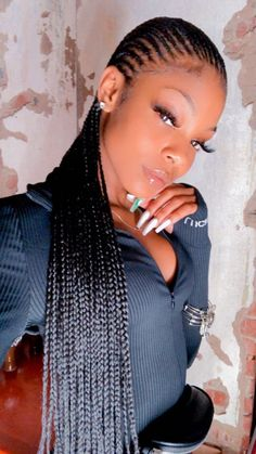 Box Braids Hairstyles, Braided Hairstyles For Black Women, Baddie Hairstyles, Braids For Black Hair, Girl Hairstyles, Love Hair, My Hair, Curly Hair Styles, Natural Hair Styles