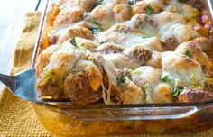Meatball Sub Bubble Up Bake | Eat and Exercise