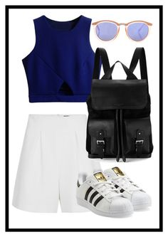 """""""Untitled #7"""" by ppoliveira-po on Polyvore featuring adidas Originals, Le Specs and Aspinal of London"""