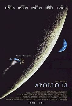 Apollo 13 (1995) Famous Movies, Good Movies, Movies Showing, Movies And Tv Shows, Apollo 13 1995, Brian Grazer, Gary Sinise, Plus Tv, See Movie