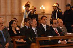 Misa por fallecidos Felipe Solá, León Arslanian, Juan Pablo Fioribello