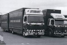 B/W PHOTO: EDDIE STOBART LEYLAND DAF 95 4 WHEEL RIGID & DRAWBAR TRAILER #NA Trucks, Vehicles, Photos, Ebay, Pictures, Truck, Car, Vehicle, Tools